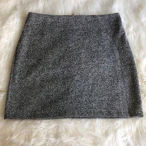Kendall & Kylie Skirts - Kendall & Kylie • Grey Mini Skirt